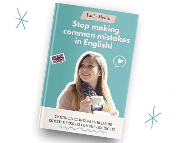 Ebook Stop making mistakes in English, 30 mini lecciones diarias, mockup
